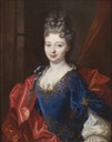 Françoise-Marie de Bourbon by François de Troy workshop (auctioned by Hargesheimer & Günther)