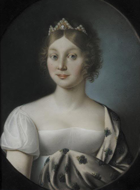 Friederike as Princess of Mecklenburg by ? (location unknown to gogm) Strelitz APFxthijs 10Oct05
