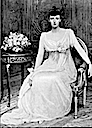 Grand Princess Anastasia Mikhailovna in Empire revival dress