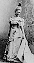 Grand Princess Elizaveta Mavrikievna wearing fancy-dress