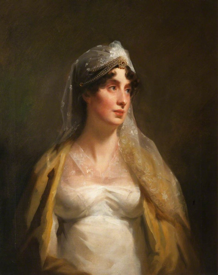 Grace Home Purves (d.1814), 1st Lady Milne by Henry Raeburn (Paxton House - Paxton, Scottish Borders, UK) From artuk.org