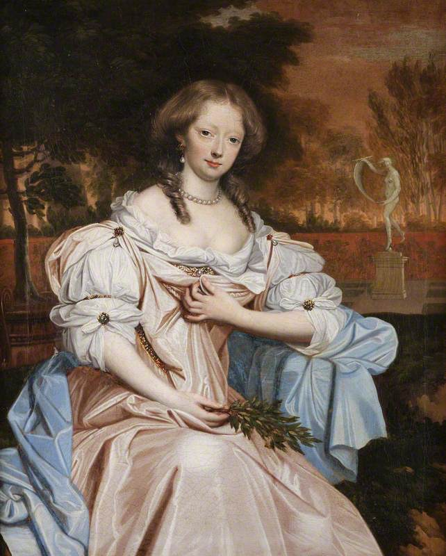 Grace Wilbraham, later Countess of Dysart by John Michael Wright (Chirk Castle - Chirk, Wrexham (Wrecsam), UK)
