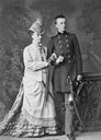 Olga Feodorovna Romanova of Russia with her eldest son,Grand Duke Nikolai Mikhailovich by Bergamasco From pinterest.com:awlaurendet:romanovs-%7E-the-mikhailovichi: despot detint X 1.5