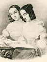 Grand Duchesses Maria Nikolaevna and Olga Nikolaevna