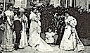 1896 Group photo including Leticia Bonaparte