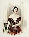 ca. 1840 Alexandra Nikolaievna by Vladimir Hau (location unknown to gogm)