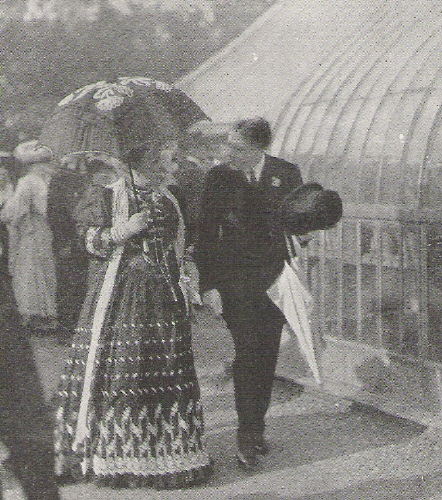 Princess Helena at a garden party