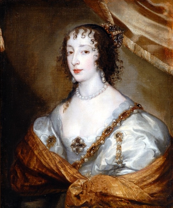 Henrietta Maria after Sir Anthonis van Dyck (Bowes Museum - Barnard Castle, County Durham UK)