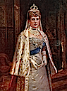 1902 Her Majesty Queen Alexandra From the original painting by I. Snowman