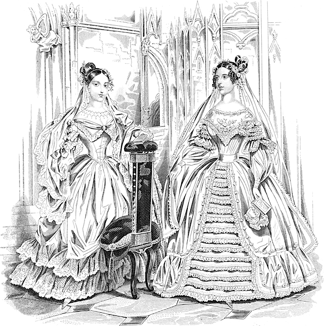 Her Majesty Queen Victoria and the Duchess of Sutherland