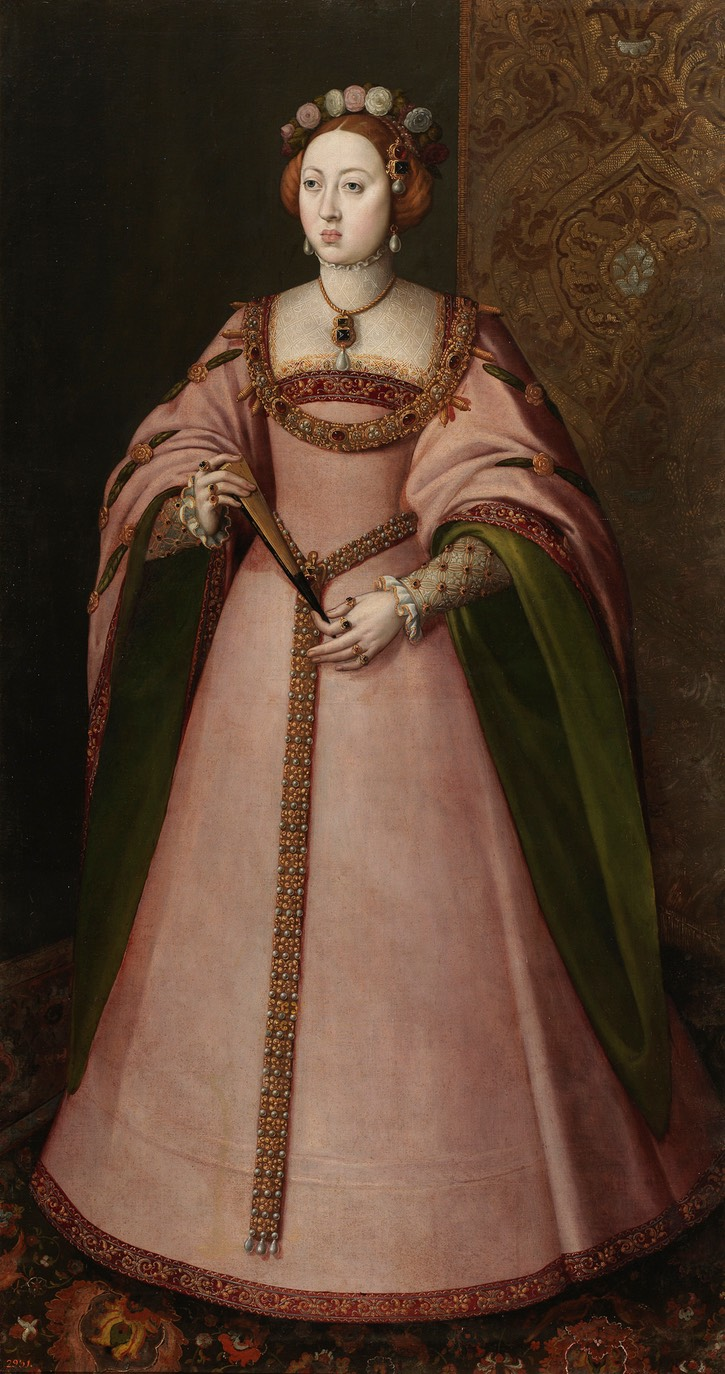 Infanta Dona Maria de Portugal, oldest daughter of King Joao III and Queen Catalina by ? (Museo Nacional del Prado - Madrid, Spain) From liveinternet.ru/users/leon_meusi/post339868429/.jpg