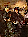 1915 Infanta Isabel (left) and Marquesa de Najera