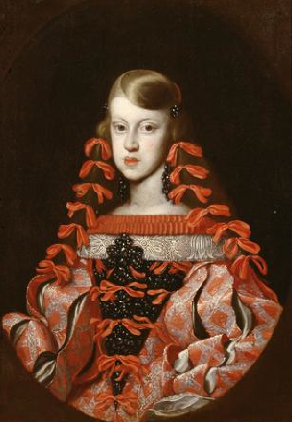 Infanta Margarita Teresa de España, emperatriz de Austria by anonymous (Kunsthistorisches Museum Wien) FDxlicorne31 25Oct08 enlarged by gogm 14Nov08
