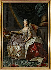Infanta Maria Antonia Fernanda (1729-1785), Queen of Piedmont-Sardinia by Anton Mengs studio (Versailles) Photo - Gérard Blot