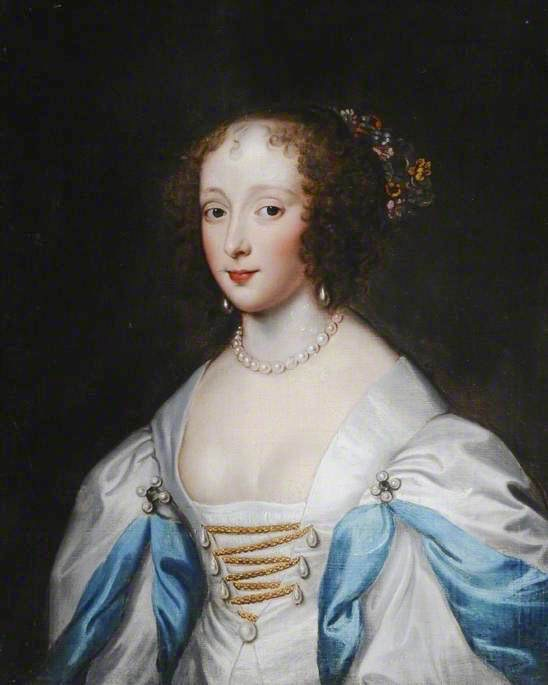 Jane Carey (1594–1633), Wife of Edward Barrett, Lord Newburgh by Cornelis Janssens van Ceulen (Sewerby Hall Museum and Art Gallery - Church Lane Sewerby, Bridlington, East Riding of Yorkshire, UK) bbc.co via Wm