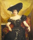 Jennie Jerome by John Singer Sargent (auctioned)