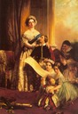 Queen Victoria and her children by John Callcott Horsley (Forbes Magazine Collection, New York)