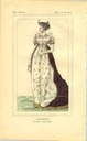 Empress Joséphine print from a fashion history