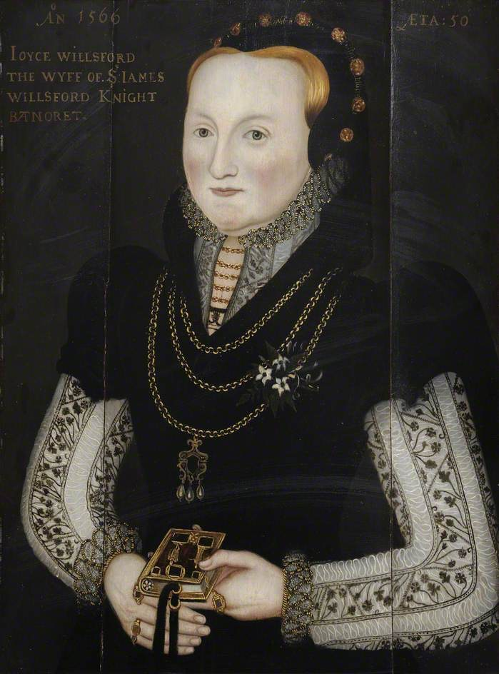 Joyce Wilford (d.1580), Wife of Sir James Wilford (d.1550)