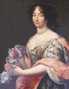Julie d'Angennes attributed to Pierre Mignard (Hôtel de ville - Rambouillet, Île- de-France, France) From fr.topic-topos.com/julie-dangennes-rambouillet