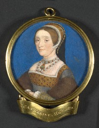 Katherine Howard by Hans Holbein the Younger (Lewis Walpole Library, Yale University - New Haven, Connecticut, USA)