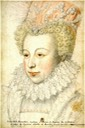 ca. 1573 Louise de La Béraudière by Clouet(?) (location unknown to gogm)