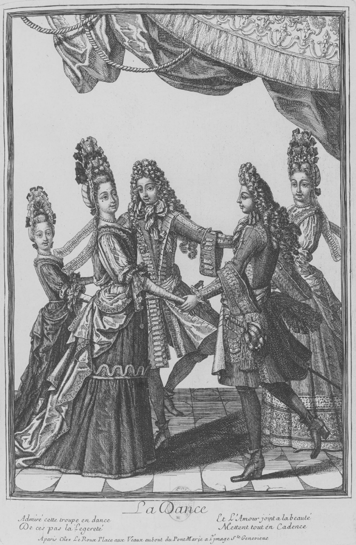 La Dance probably by Nicolas Bocquet (Bibliothèque nationale de France (BnF) - Paris, France) detint