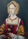 Lady Abergavenny, née Joanna Fitzalan, Katherine Howard lady in waiting or Anne Boleyn by ? (British Museum - London, UK) From Pinterest search trimmed