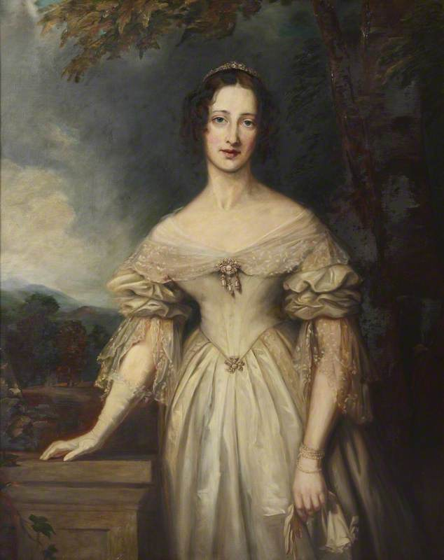 lady blanche georgiana howard duchess of devonshire by