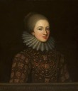 Lady Elizabeth Cecil (1596–1672), Countess of Berkshire by ? (Dunham Massey/Stamford Military Hospital - Altrincham, Cheshire, UK)