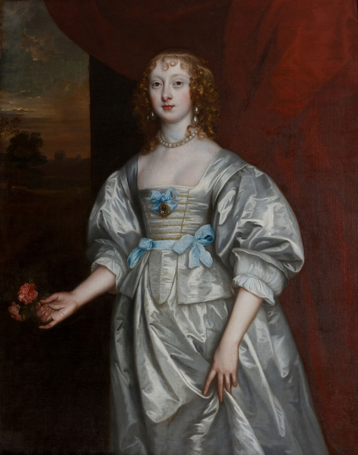 Lady Elizabeth Cecil, wife of the third Earl of Devonshire, by follower of Sir Anthonis Van Dyck (Burghley House - Stamford, Lincolnshire, UK) From burghley.co.uk/collections/.jpg