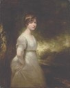 Lady Godolphin, three-quarter-length, in a white dress and a jewelled headband by Sir William Beechey (auctioned by Christie's)