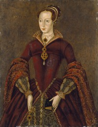 1590s Posthumous portrait of Lady Jane Grey Streatham Portrait by ? (National Gallery - London UK)
