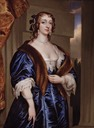 Lady Margaret Feilding, Duchess of Hamilton by Henry Pierce Bone in 1839 after Sir Anthonis van Dyck (auctioned)