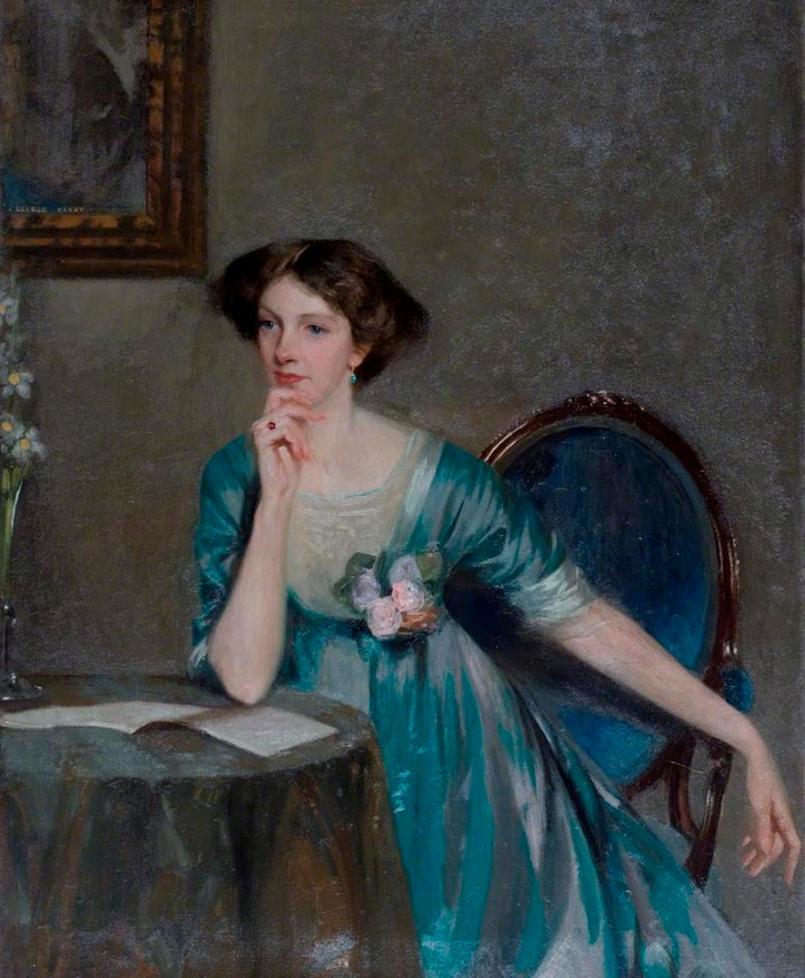 Lady Margaret Sackville (1881–1963) by George Henry (Laing Art Gallery - Newcastle UK)