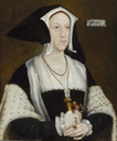 ca. 1532-1535 Lady Margaret Wotton, Marchioness of Dorset by follower of Hans Holbein the Younger (Weiss Gallery)