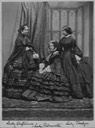 Lady Palmerston and her daughters Fanny (right) and Minny (left) From specialcollectionsuniversityofsouthampton.wordpress.com/2017/01/09/sans-peur-and-sans-reproache-emily-lady-palmerston/ detint