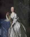 Lady, said to be Anna Grenville, née Chambers, Countess Temple (1709-1777) by circle of Thomas Hudson (auctioned by Bonhams)