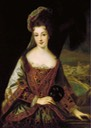 Lady, said to be Duchess Adelaide, by Jean-Baptiste Santerre (auctioned by Christie's)