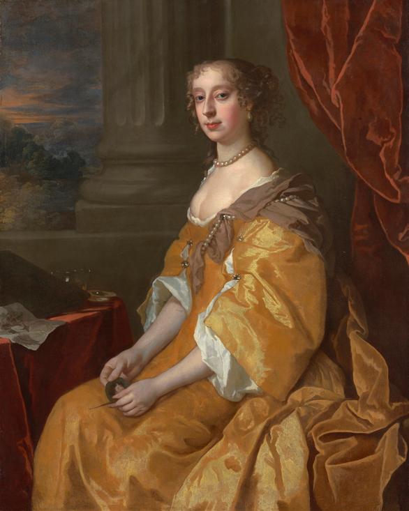 Lady, traditionally identified as Anne Killigrew (1660-85) by Sir Peter Lely (Philip Mould - London, UK)