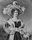 Lady Elizabeth Leslie engraved by Thomson from a drawing by W. Delacourt. Published by Whittaker & Co of London, 1831, in the series The Female Nobility (Clan Leslie Charitable Trust - Leslie, Fife UK)