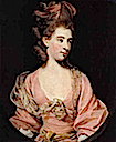 Lady in Pink, said to be Mrs. Elizabeth Sheridan
