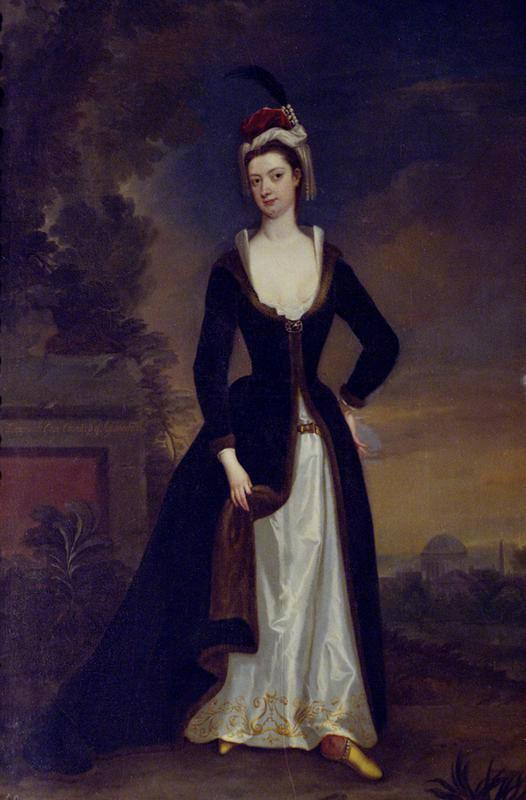 Lady Jemima Grey (1698–1731) by Charles Jervas (Wrest Park - Silsoe, Luton, Bedfordshire UK) from bbc.co