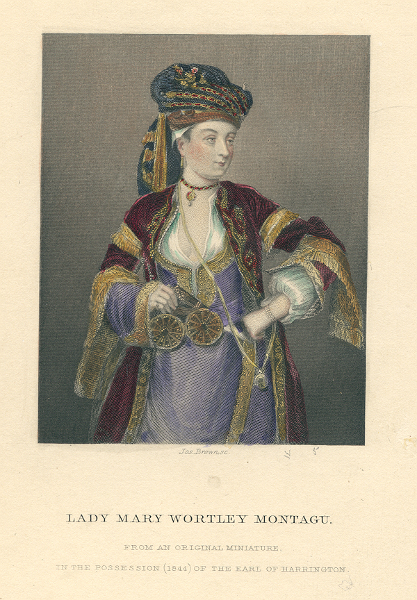Lady Mary Wortley Montagu From The Letters of Horace Walpole Noel Memorial Library, Louisiana State University in Shreveport