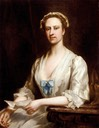 Lavinia Fenton, later Duchess of Bolton by John Ellys (auctioned by Sotheby's)