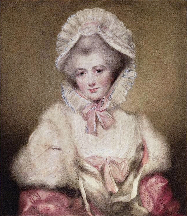 Lavinia, Countess Spencer, née Bingham (1762-1831) by Ozias Humphry after Sir Joshua Reynolds (auctioned by Christie's) Wm