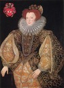 ca. 1585 Lettice Knollys attributed to George Gower (Longleat House - Horningsham, Somerset UK)