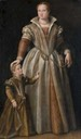 Livia Barbiano, wife of Giberto IV Sanvitale Count of Sala by school of Paolo Veronese (auctioned by Christie's) From realmofvenus.renaissanceitaly.net/challenges/IRCC2012/IRCC-II-2012-MandyLE.htm