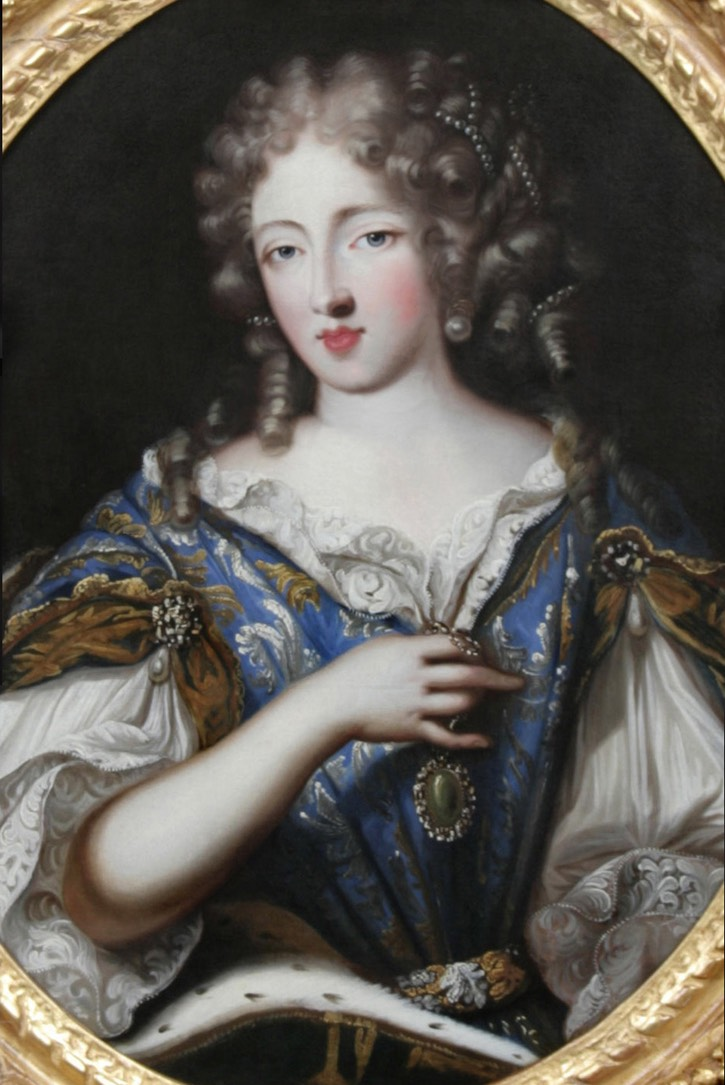this is versailles portraits louise de la valli re. Black Bedroom Furniture Sets. Home Design Ideas