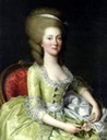 Louise-Henriette Boeuf de Curis, née Steinman by Adolf Ulrich Wertmüller (auctioned) From americangallery18th.wordpress.com/2015/01/19/adolf-ulrich-wertmuller-1751-1811-2/ (posted 19 January 2015)